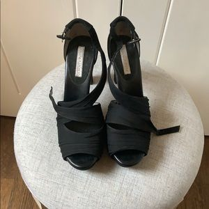Banana Republic Buckle Strap High Heels